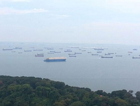 Singapore's MPA suspends operation on five MFM-equipped bunker tankers
